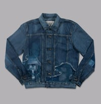 Levi's Made & Crafted Japanese Denim distressed jacket, NEW WITH TAGS Vancouver, V5T 1L5