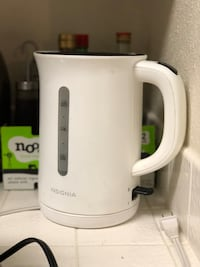 white and gray electric kettle Mountain View, 94043