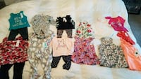 Assorted New Baby girl clothes  Calgary, T3N 0E4