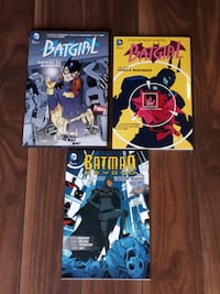3 Batgirl DC Comics Graphic Novels