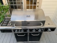 Kenmore 5-Burner Gas Grill with Ceramic Searing & Rotisserie Burners Chantilly, 20151