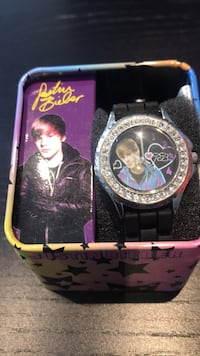 Justin Bieber Collectors Watch. Excellent condition..