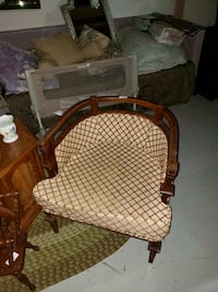 Cool retro style barrel chair