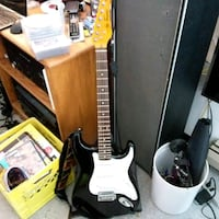 Electric squire guitar  Vancouver, V6A 1S9