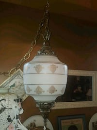 Beautiful Vintage Glass Swag Lamp Calgary, T2Y 2W5