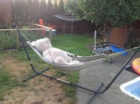 Hammock with stand (adjustable) Pitt Meadows, V3Y 2C3