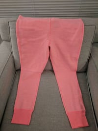 Neon pink striped sleep pants 3718 km