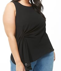 Plus size ruched top Calgary, T3G 4E1