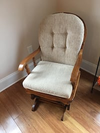 Wooden Rocking Chair w/ pads Gastonia