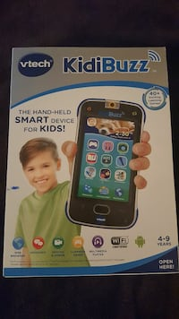 Vtech Kid Buzz Smart Phone For Kids New in box Theodore, 36582