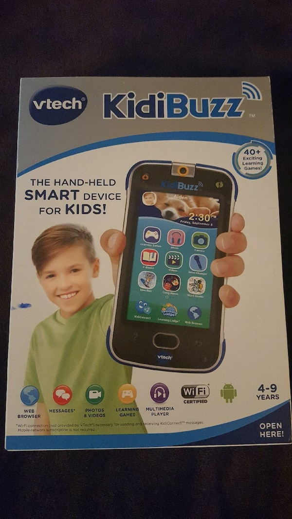 Vtech Kid Buzz Smart Phone For Kids New in box
