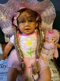 Pat Secrist Reborn Toddler Doll