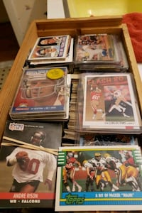 1980's mint condition trading cards