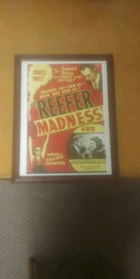 Reefer Madness movie advertising St. Catharines, L2W 1B9