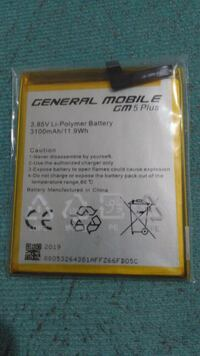 Orjinal GM 5plus battery