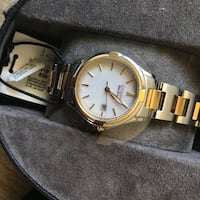 Gold and silver citizen watch NIB never worn Parma, 44130