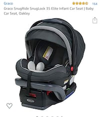 Graco infant car seat and base Rockville, 20852