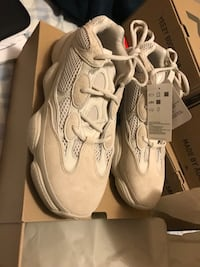 pair of white Nike Huarache shoes Dover, 07801