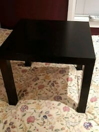 Black Ikea lack side table good condition Toronto, M4K 1G4