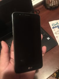 black LG android smartphone screenshot Boyds, 20841