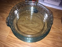 Round clear glass bowl with lid Virginia Beach, 23451