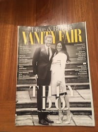 May 2018 Vanity Fair magazine featuring the wedding of Harry and Meghan Centennial