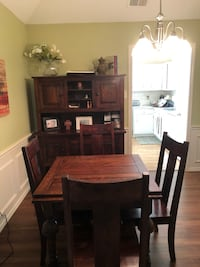 Classic antique table with 4 chairs and armoire!! Frisco, 75034