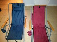 blue and red camping chairs Houston, 77039
