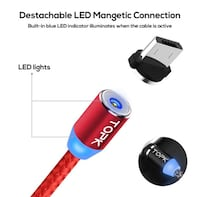 Magnetic USB charging Cable for only Android (Micro USB)