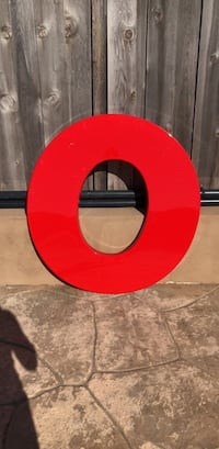 """50"""" Marquee Letter """"O"""" San Diego, 92117"""