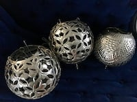 3 metal hanging lanterns Madeira Beach, 33708