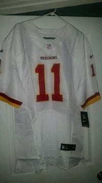 white and red Washington Redskins 11 jersey Lusby, 20657