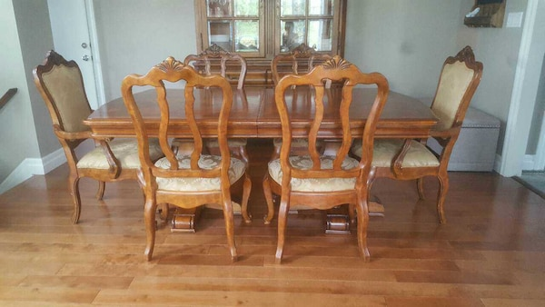 Used Ethan Allen Dining Room Table For Sale In Ontario
