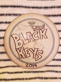 The Black Keys Autographed Drumhead  Baltimore, 21211