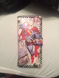 Superman print wallet