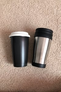 Coffee Travel Mugs! One for $3, two for $5
