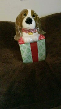 New holiday dog cookie jar Pikesville, 21208