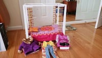 American girl doll Julie bed and 3 outfits Rockville, 20850