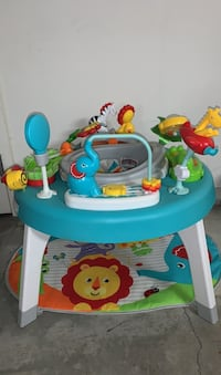 Fisher price jungle play seat perfect condition North Andover