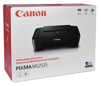 Canon PIXMA MG2525 Printer with Black and Colour Cartridges-Brand New/SEALED Toronto, M1R 3N6