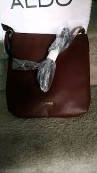 women's brown leather shoulder bag Calgary, T3K 4S6