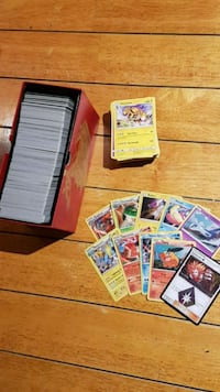 600+ Pokemon Card Lot 537 km