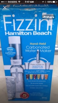 Brand New in box Hamilton Beach carbonated water maker  Toronto, M8Z 3Z7