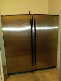 Industrial whirlpool Double door fridge/ Freezer 26 km