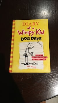 Hard cover diary of a wimpy kid.  Dog days  Toronto, M1L 4L3