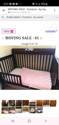 Baby items. Needs gone ASAP.
