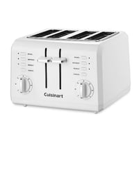 Cuisinart CPT-142 Compact 4-Slice Toaster, White 11 Washington, 20001
