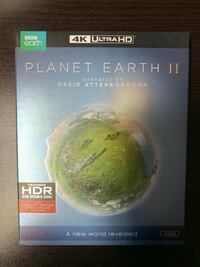 Planet Earth II 4K Brand New In Box Toronto, M6A