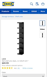 IKEA LACK shelf unit Toronto, M1B 3G5