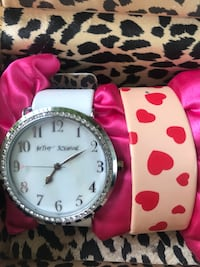 Betsey Johnson watch (2 bands) Springfield, 22151
